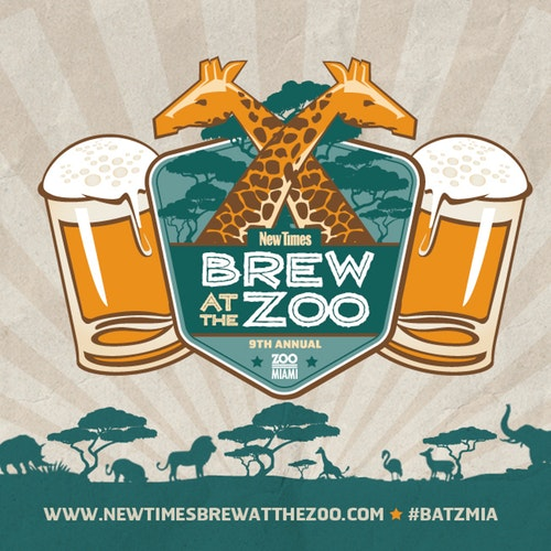 Brew at the Zoo – May 12th, 2018